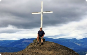 IRVGO 2 Nov 15 Summit Cross Mt Tzouhalem Doyle
