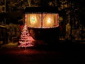 Our Christmas decor 2007, Tampa East RV Resort