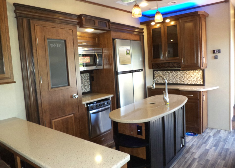 Grand Design Solitude 5th Wheel Kitchen
