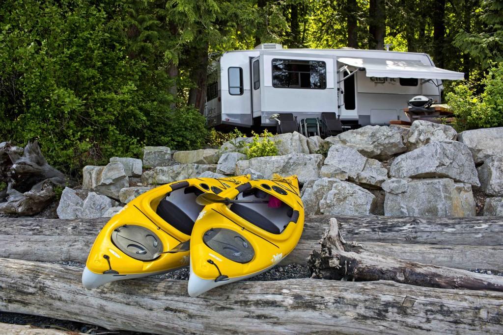 GoRVing.ca Kayak RV shot