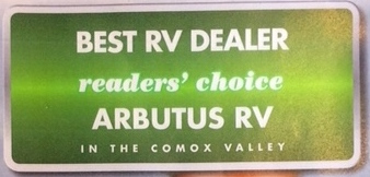 WINNERS! RV Buyers Vote and Arbutus RV is #1