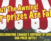 Sur-prize! It's Roll Out the Awning Time at Arbutus RV.