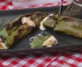 Cookin' on the Road with Arbutus RV! Seafood-stuffed Grilled Peppers