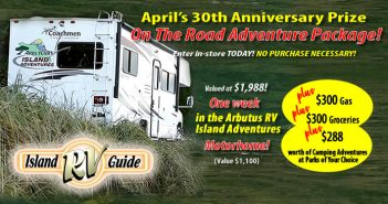 April On-The-Road Adventure Contest!