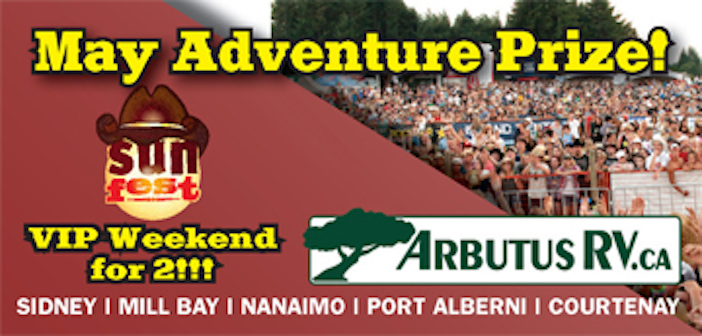 30th Anniversary May Festival Adventure Prize – VIP Package to SUNFEST!