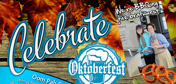 Celebrate Oktoberfest at Arbutus RV – October 13th!