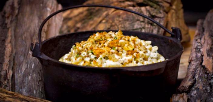 Comfort Food Alert! Fireside Mac 'n Cheese…yummmmm