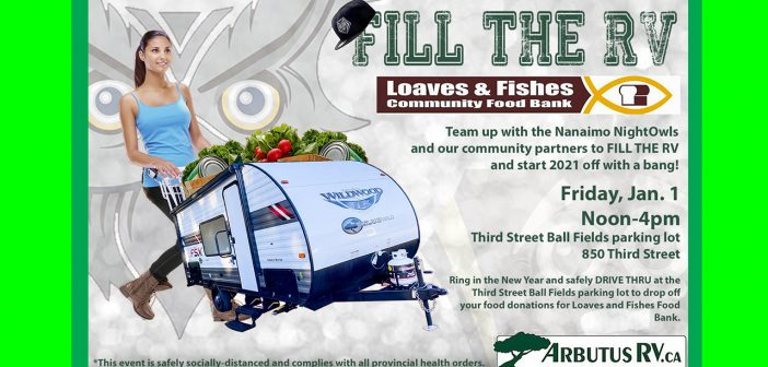 Fill The RV This New Years Day!